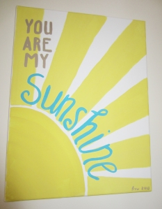 You Are My Sunshine - spifftacular.wordpress.com