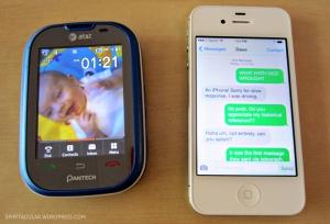 Dumb phone vs. smartphone.