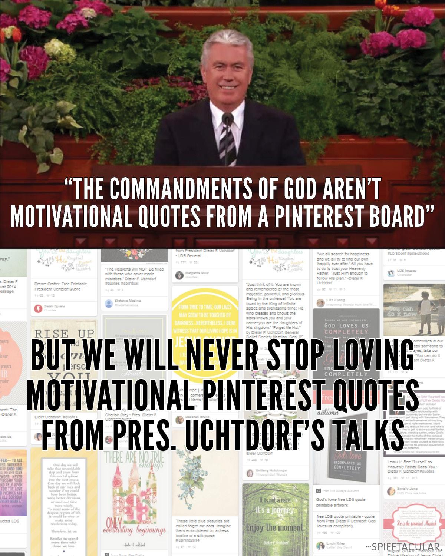 Pinterest Inspirational Quotes For Women: LDS Women's Meeting Highlights + Pinterest Motivational